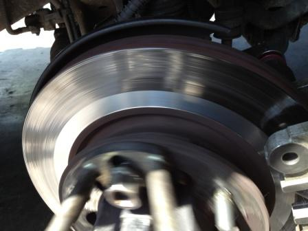 warped brake disk limit