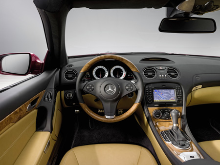 Mercedes Slk 500 Interior. The SL name is synonymous with