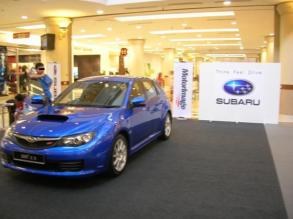 WRX STI makes its Malaysian debut