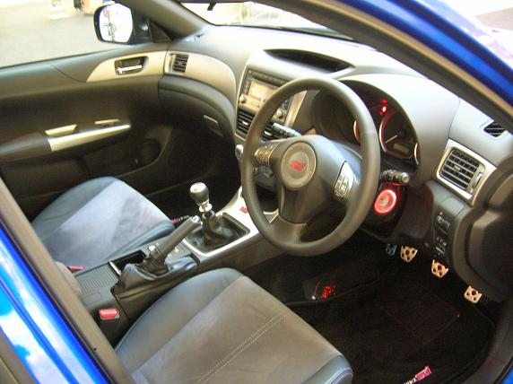 - Interior hardly feels special, though STI badges almost convince you