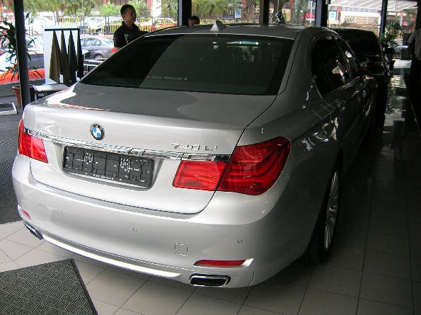 2008 BMW 740Li F01 technical specifications - Autofiles. BMW 7 Series ...