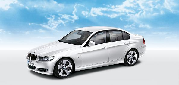 From the outside, the 320d EfficientDynamics looks exactly the same as the